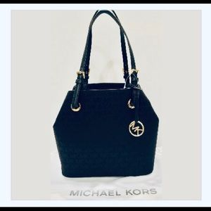 🌺Michael Kors Jet Set Item Grab Bag Tote Black